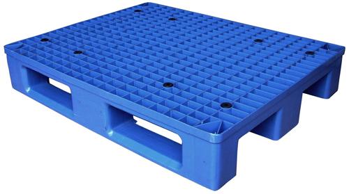 川字底重型仓库货架塑料卡板托盘